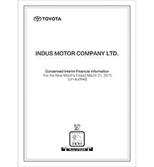 3rd Quarter 1 Indus Motor Company Limited