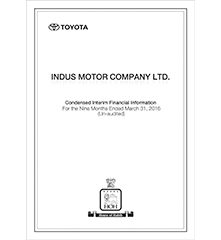 3rd Quarter Indus Motor Company Limited