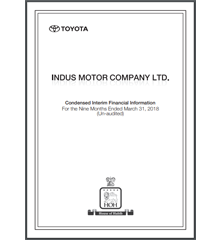 toyota s 1 Indus Motor Company Limited