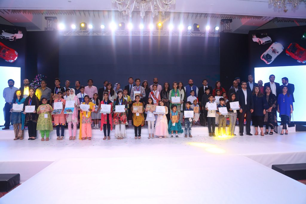 imc announces national champions of 13th toyota dream art car contest 1 Indus Motor Company Limited