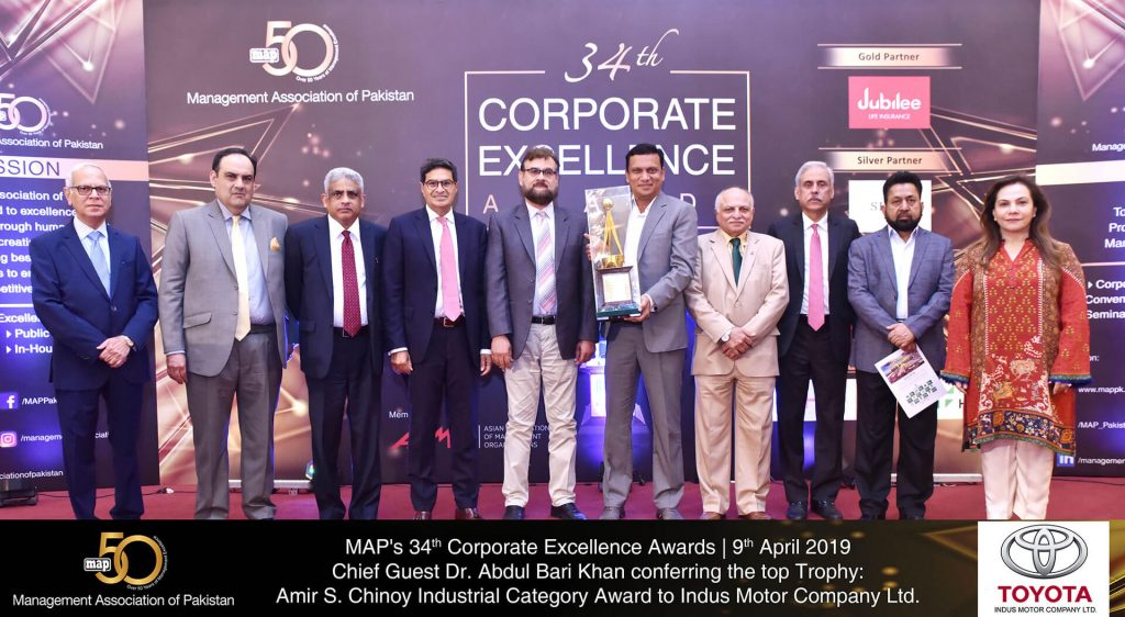 MAPs 34th CEA Indus Motor Company Limited Pic Indus Motor Company Limited