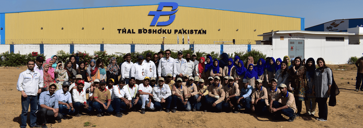 IMCs accelerates the Million Tree Drive Indus Motor Company Limited