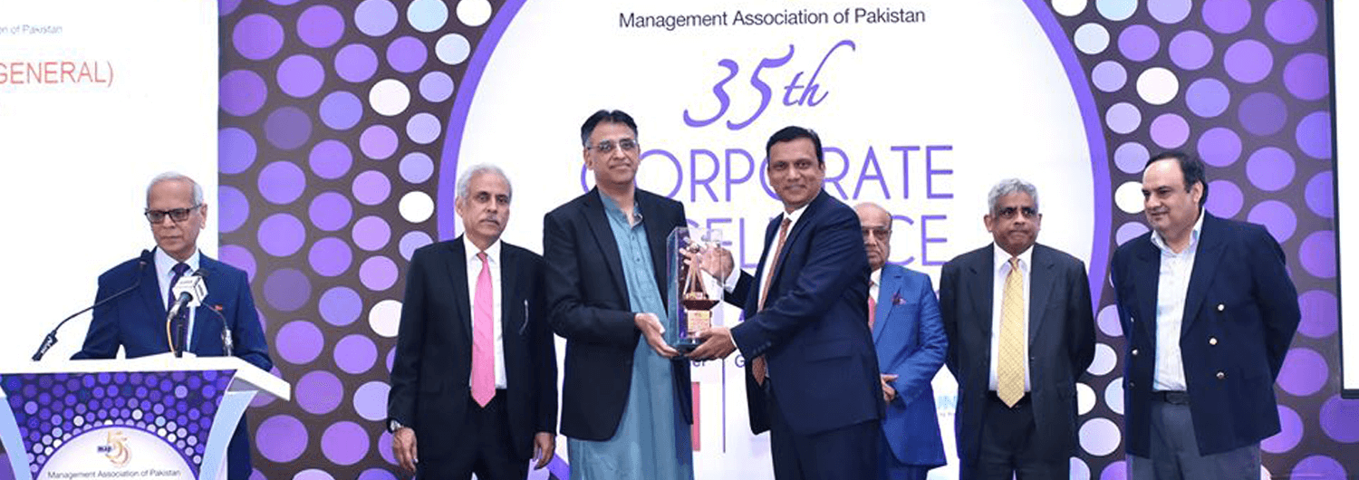 imc bags maps corporate excellence award 2020 Indus Motor Company Limited