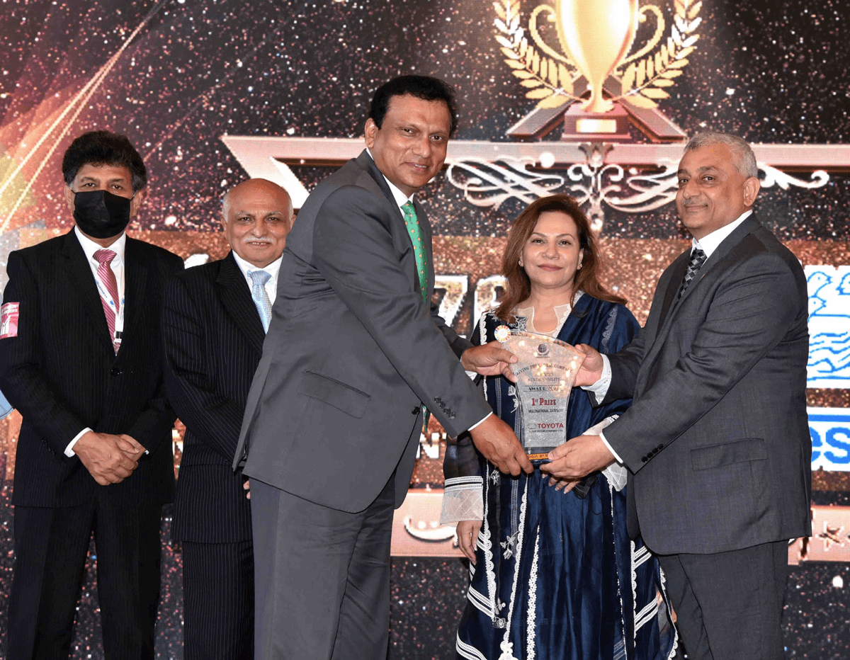 Indus Motor Awarded 1st Prize by Global Compact Network Pakistan